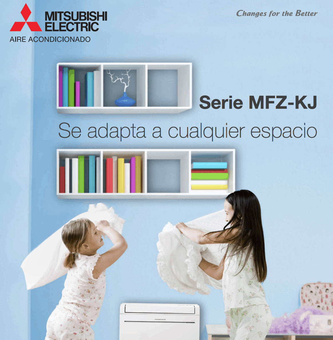 Catálogo MFZ-KJ Mitsubishi Electric Aire Acondicionado