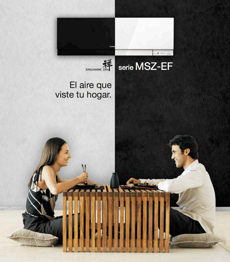 MSZ-EF Kirigamine Zen Catálogo – Mitsubishi Electric