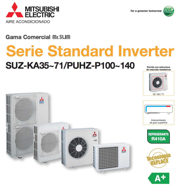 Exteriores Standard Inverter Mitsubishi Electric Aire Acondicionado