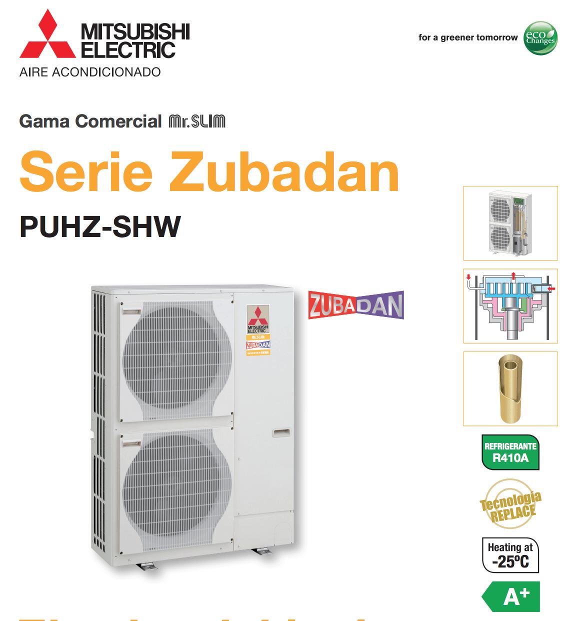 Exteriores Zubadan Mitsubishi Electric Aire Acondicionado