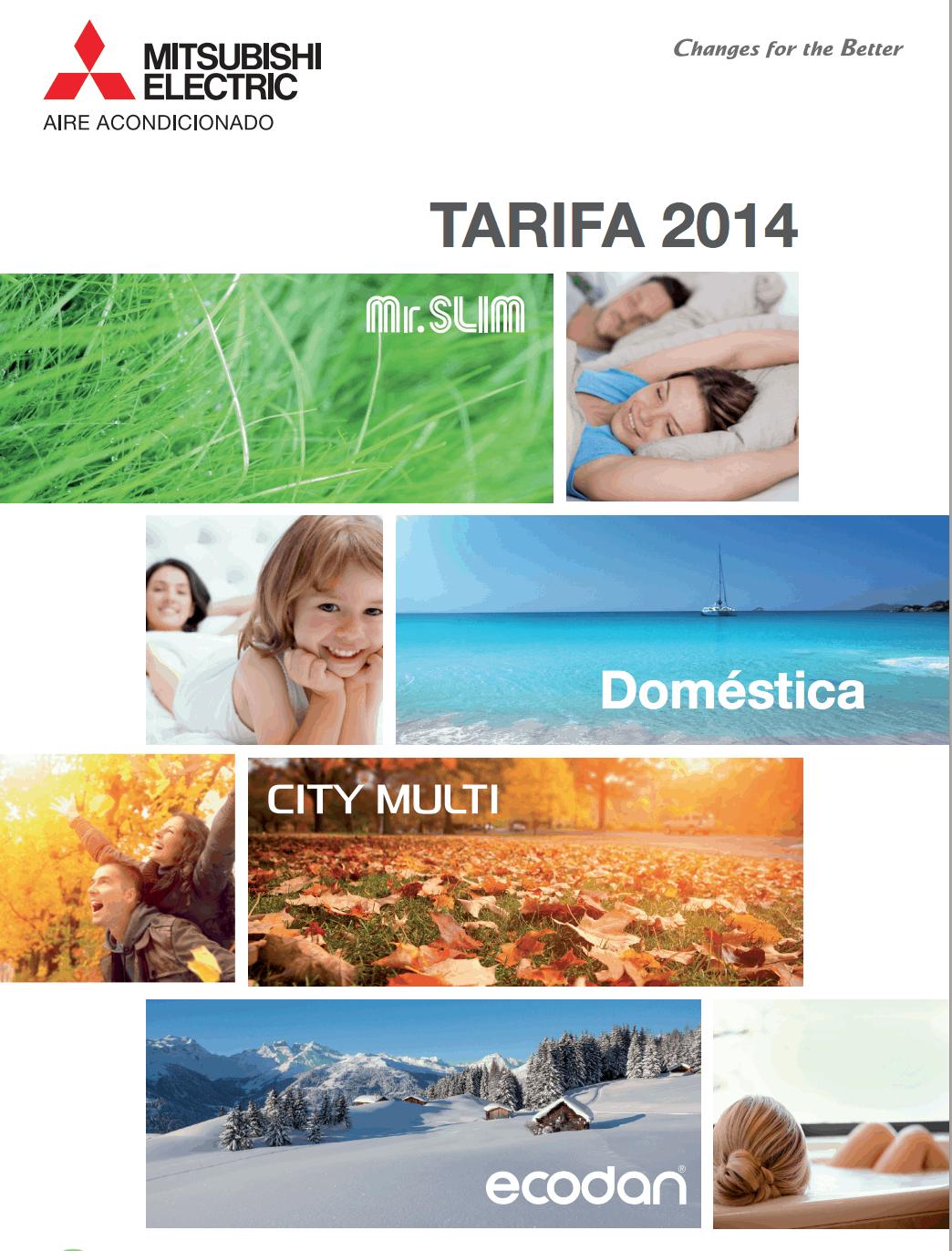 Tarifa Mitsubishi Electric HiRes y LoRes 2014