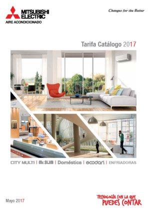 Tarifa catálogo 2017 · Aires Acondicionados Mitsubishi Electric Portada (versión mayo 2017)