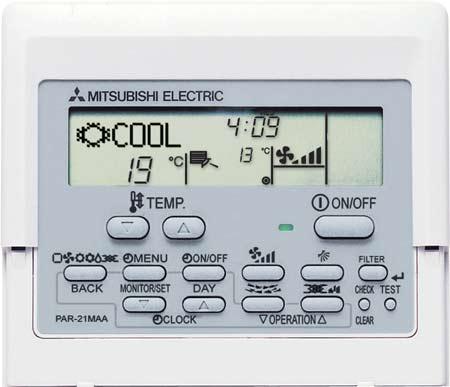 Manual De Intrucciones Del Control Par 21maa Mitsubishi