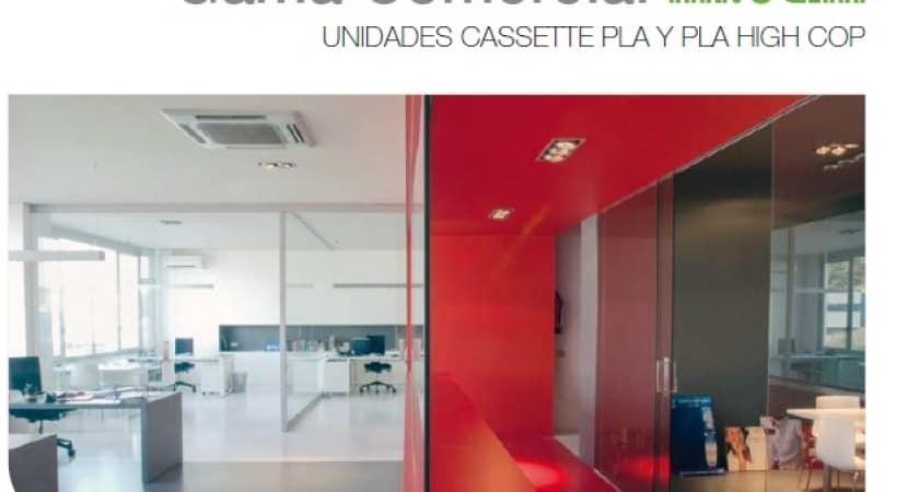aire acondicionado cassette Mitsubishi Electric
