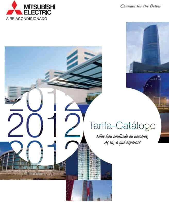 Catálogo Tarifa 2012 Mitsubishi Electric