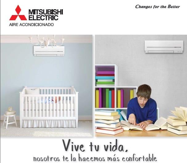 Catálogo de la serie de aire acondicionado MSZ-SF de Mitsubishi Electric 2014