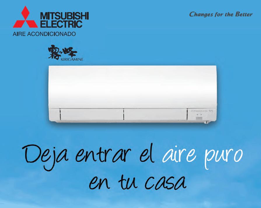 Catálogo del aire acondicionado serie MSZ-FH de Mitsubishi Electric 2014