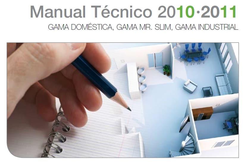 Manual Técnico aires acondicionados Mitsubishi Electric 2011