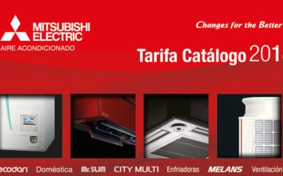 Tarifa catálogo abril 2018 (Mitsubishi Electric - Aires acondicionados)