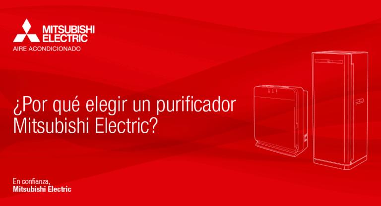 Catálogo purificadores Mitsubishi Electric (MA-E85R y MA-E100R)