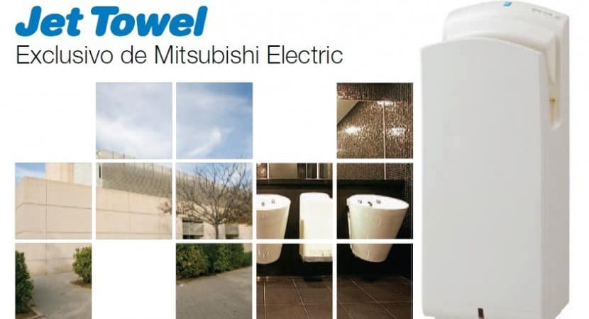 Secamanos Jet Towell Mitsubishi Electric