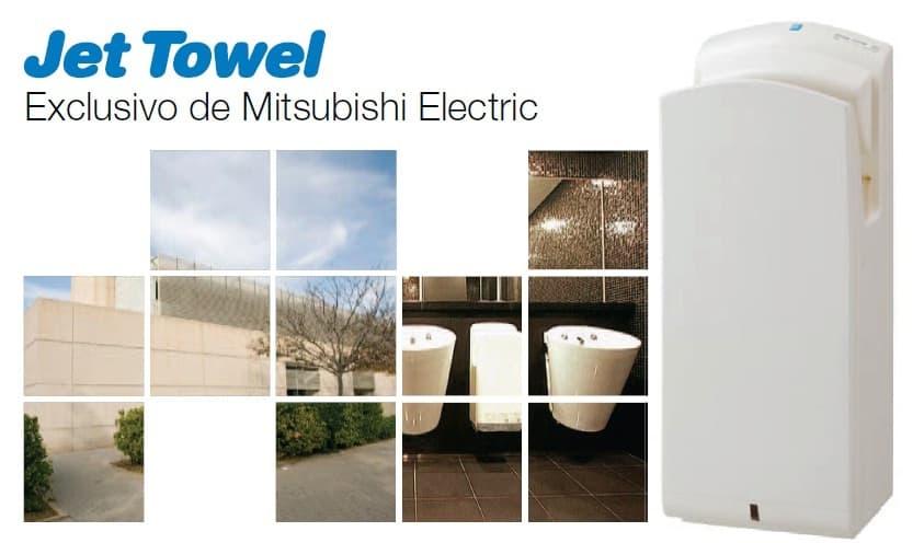 Manual técnico del secamanos Jet Towell Mitsubishi Electric