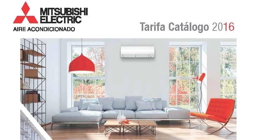 Tarifa Catálogo 2016 Mitsubishi Electric